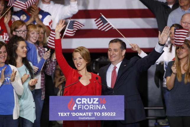 Ted Cruz, Carly Fiorina 2016