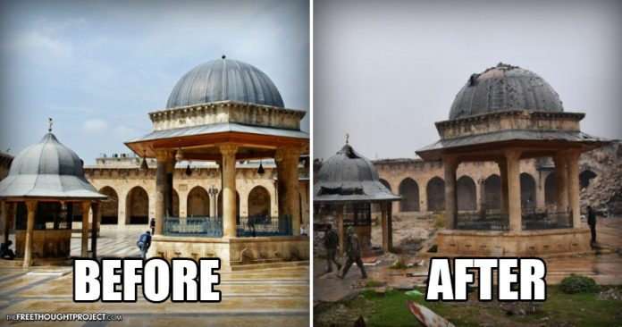Before After Photos Prove The Us Is Funding A War On Human Rights